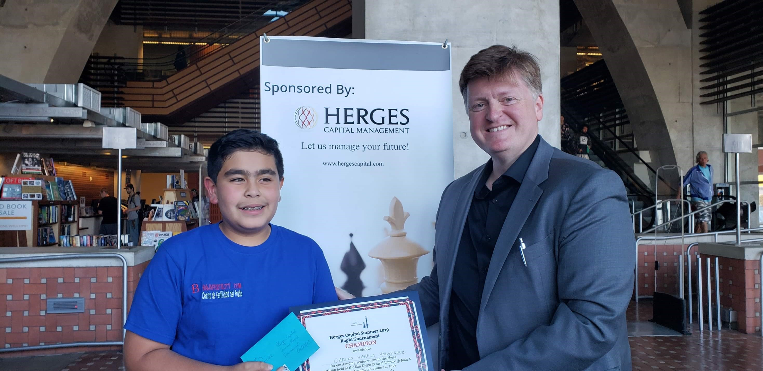 17th Herges Capital Chess Tournament - Herges Capital Management